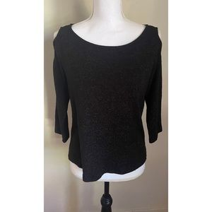 Nally & Millie Sweater with Shoulder Opening